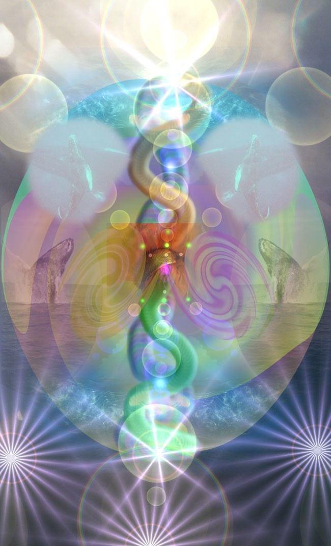 Луч трансформации физического тела (Группа Новая Земля)